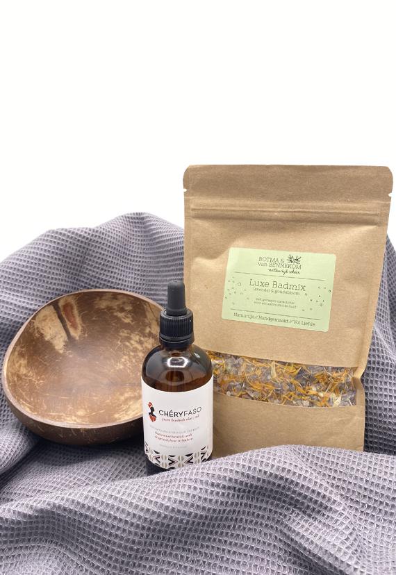 cadeaubox Bath & Scrub therapy